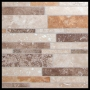 Mixed Color Travertine Tile Mosiac