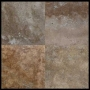Nuvola Nera Oscuro Tile Travertine Honed
