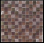 """Terra"" Glass Tile Mosaic Honed"