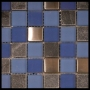 """Water"" Glass Tile Mosaic Honed"