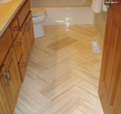 Travertine tiles for flooring, walls, paving and coping